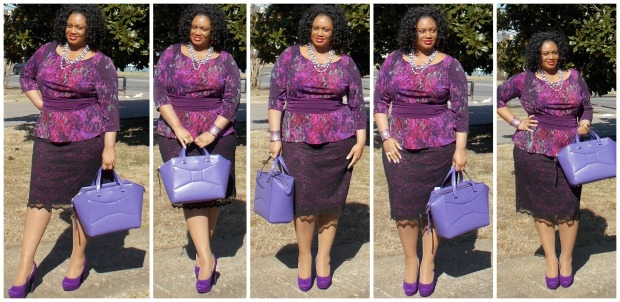 Berry Nicolette Dress Collage