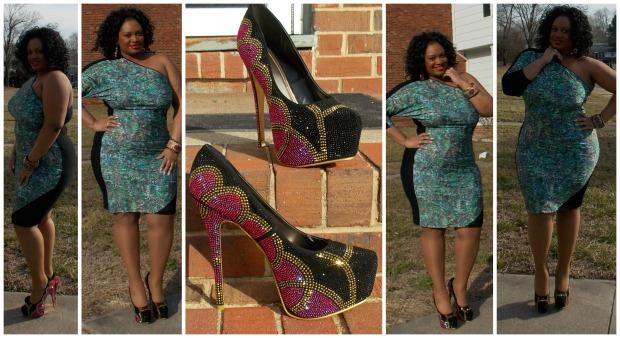 Scarlett Dress #2 Collage