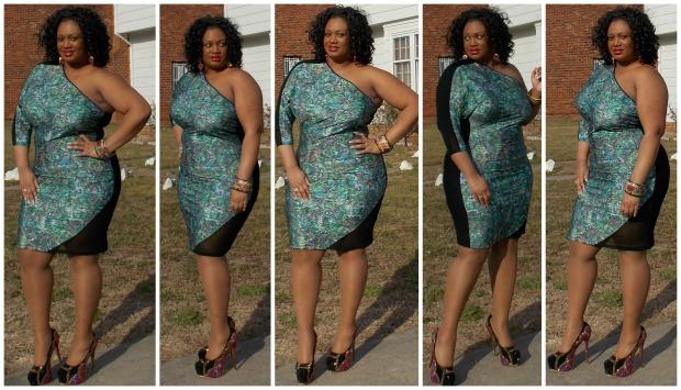 Scarlett Dress Collage