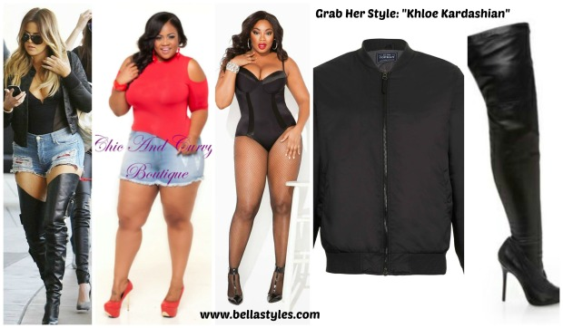 Khloe Denim Short's Collage