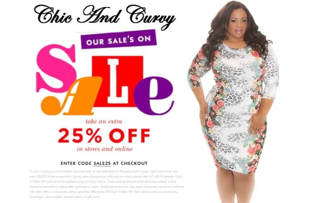 Chic And Curvy Sale 25 off a