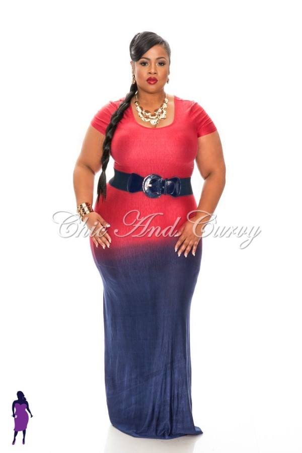 Ootd Fade To Blue Quot Trendy Curves Quot By Bella Styles Llc