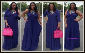 HD wallpapers avril plus size maxi dress in violet with shrug