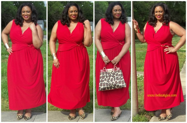 Gold Ring Dress Collage