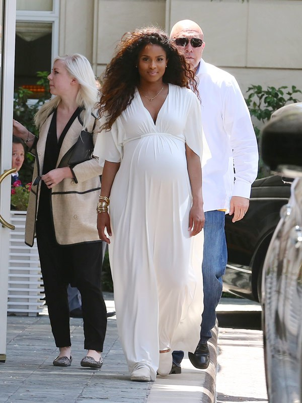 Grab Her Style Ciara In Rachel Pally At Kim K S Bridal Shower