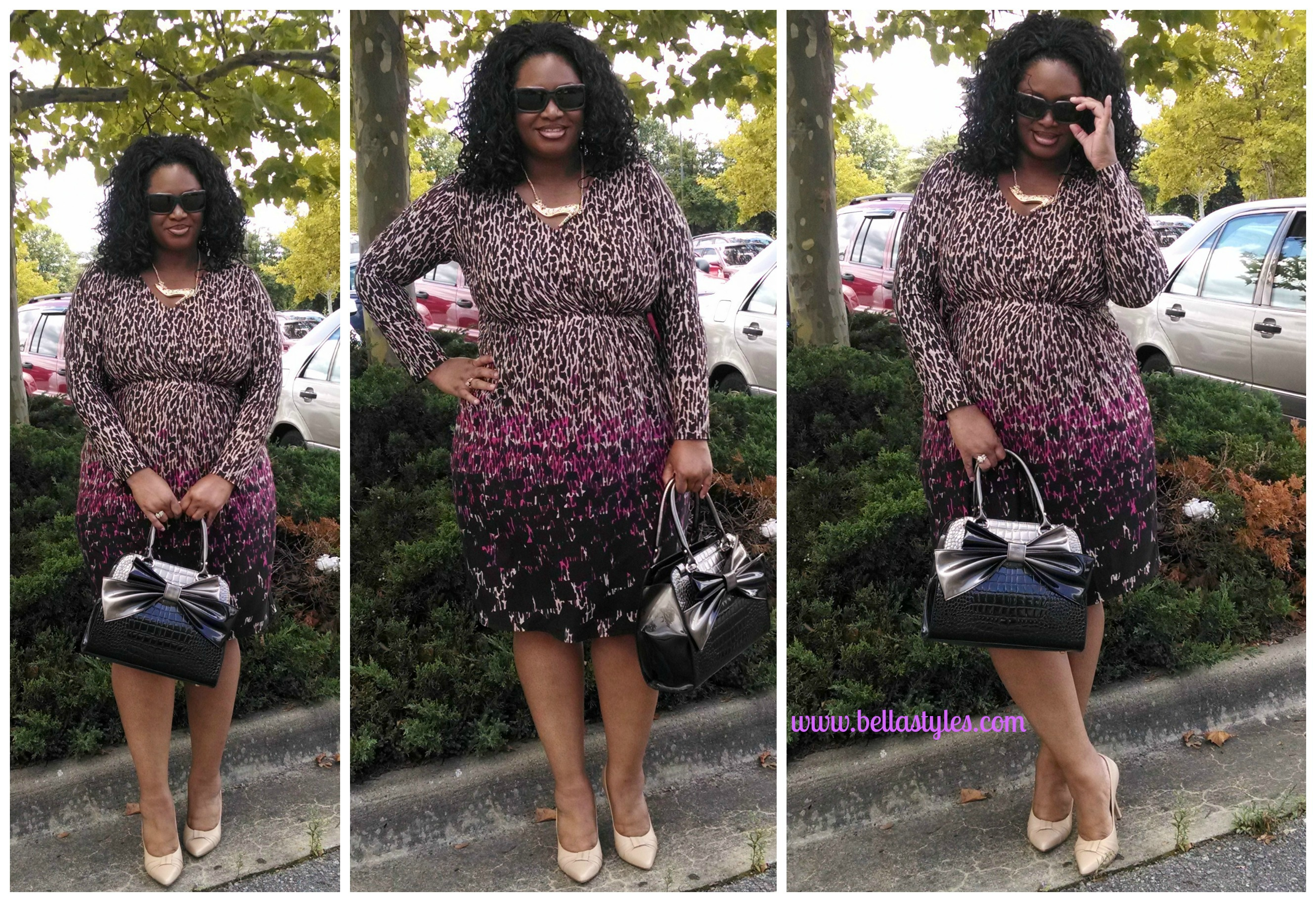 "81109c459b4 OOTD  ""Marisota Animal Print Dress"""