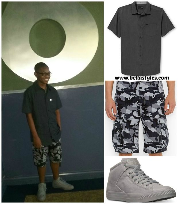 Solomon's Camo Trend Collage