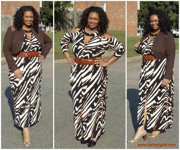 Anna Scholz Animal Dress Collage