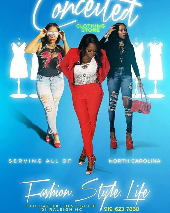 Rapper Remy Ma Opens Conceited Clothing Store In Raleigh North Carolina Trendy Curves By Bella Styles Llc