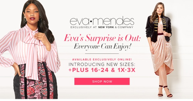 aa3a5dd0ced Eva Mendes Has added Plus-Sizes to her Collection for New York and ...