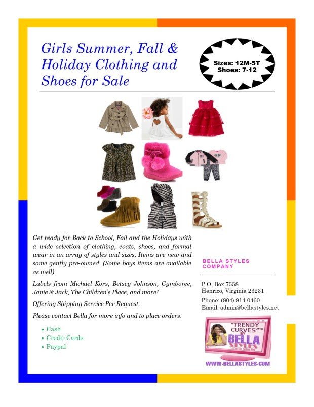 Kids Clothing Flyer